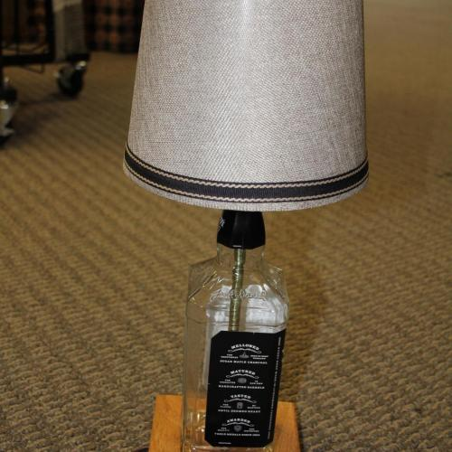 Jack Daniels Tennessee Whisky Bottle Lamp