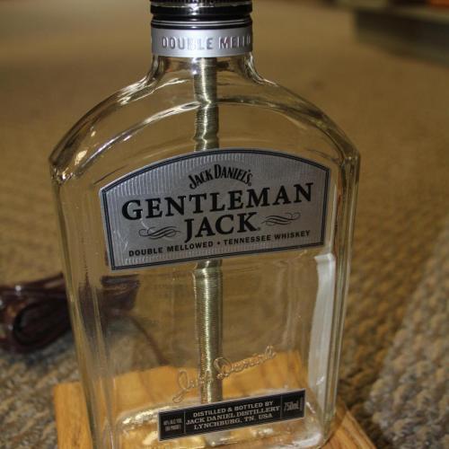 Jack Daniels Gentleman Jack Tennessee Whisky Bottle Lamp Mogost