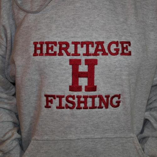 Heritage Fishing Embroidered Hoodies
