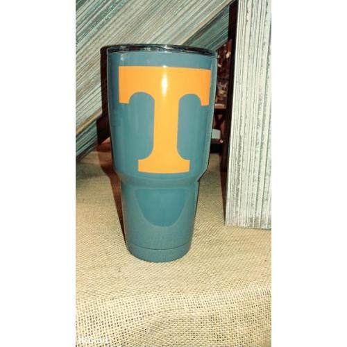 Power T  Gray UT Tumbler - 30 ounces